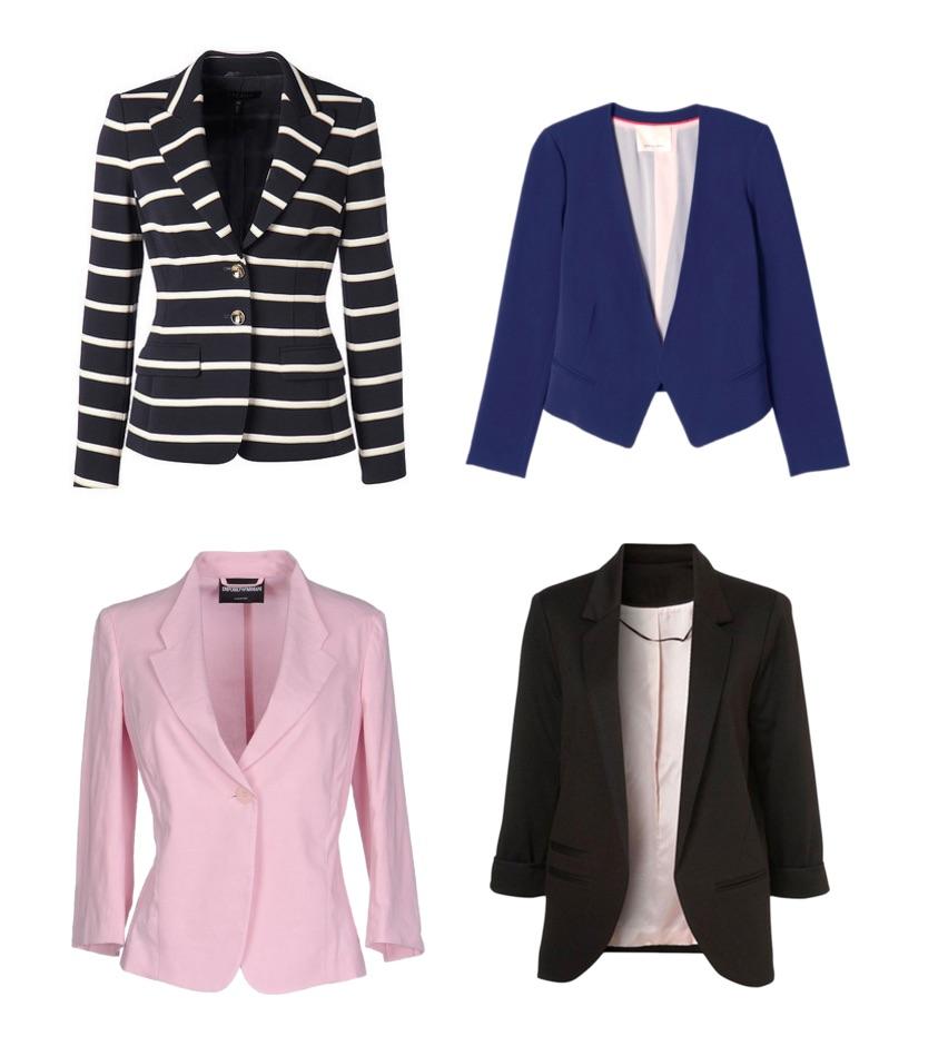 ways to look expensive - blazer