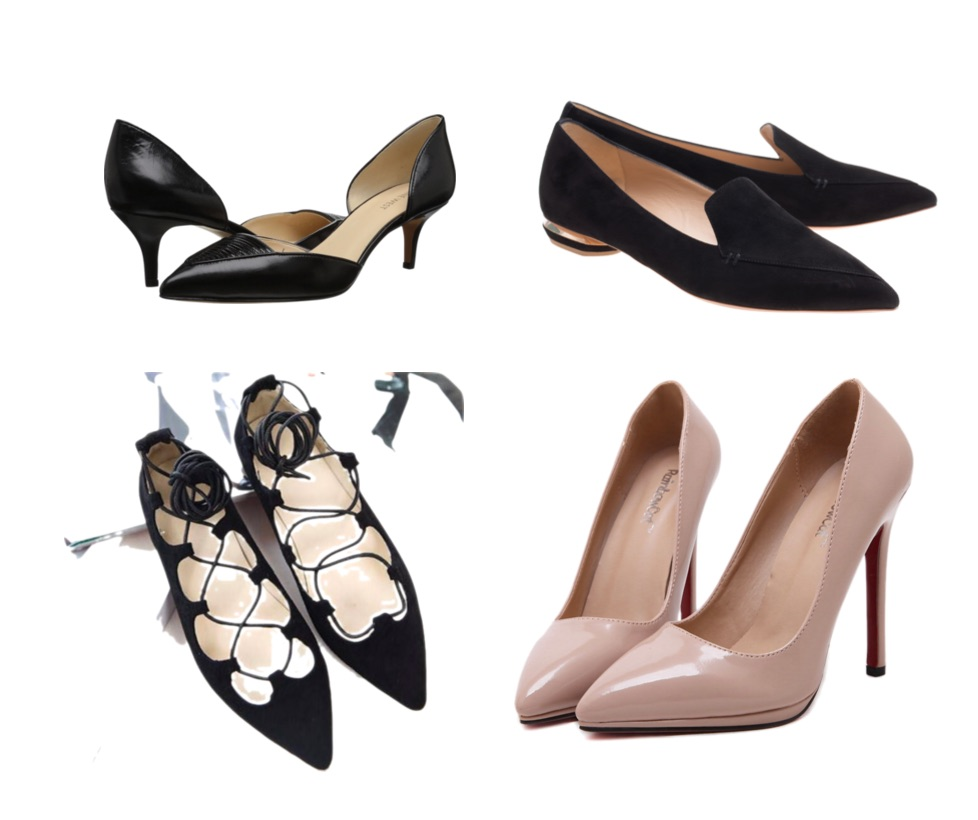 ways to look expensive - flats heels