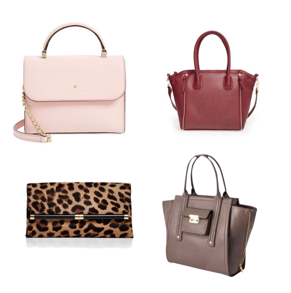 ways to look expensive - structured bag