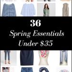 36 Spring Essentials Under $35