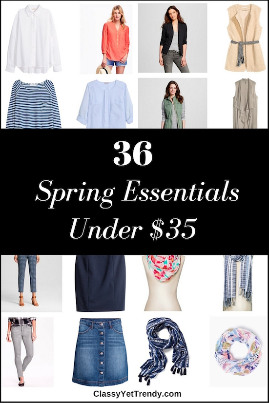36 Spring Essentials Under $35