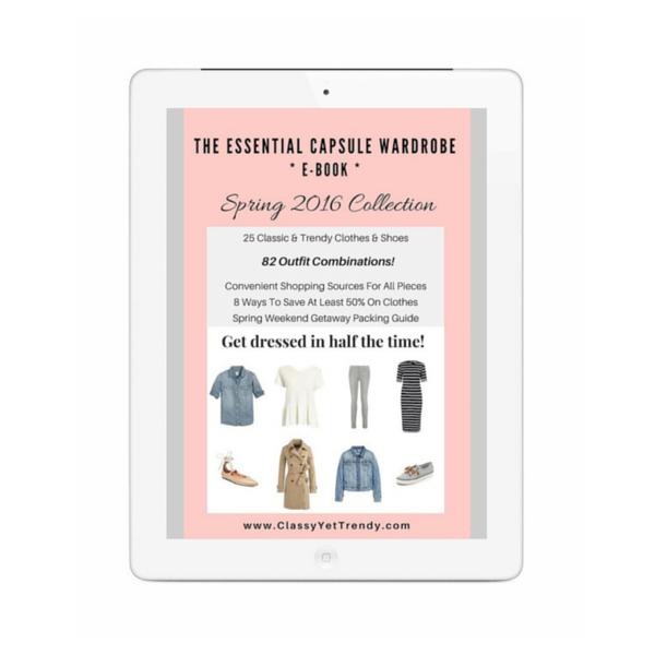 The Essential Capsule Wardrobe: Spring 2016 Collection
