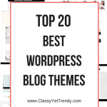 Top 20 Best WordPress Blog Themes