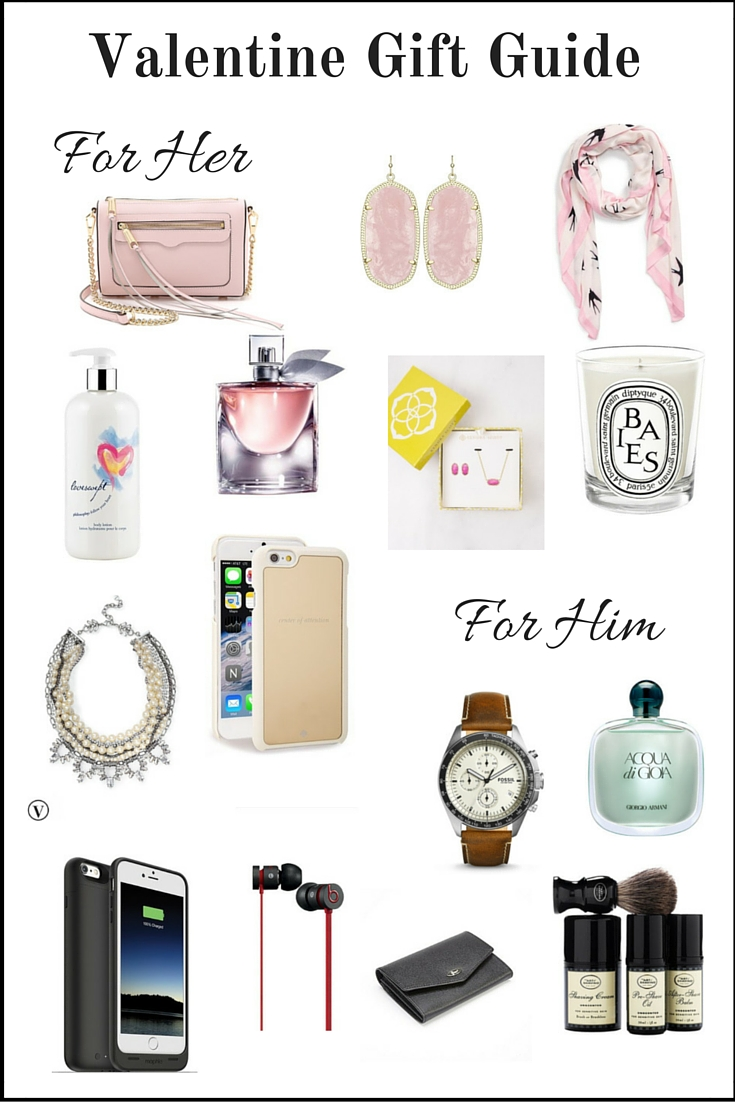 Valentine Gift Guide For Her and Him