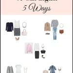 How To Wear A Cardigan 5 Ways