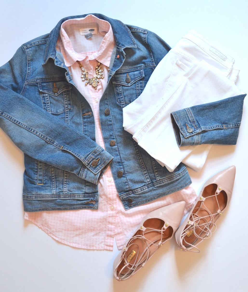 4 ways to wear white jeans 1