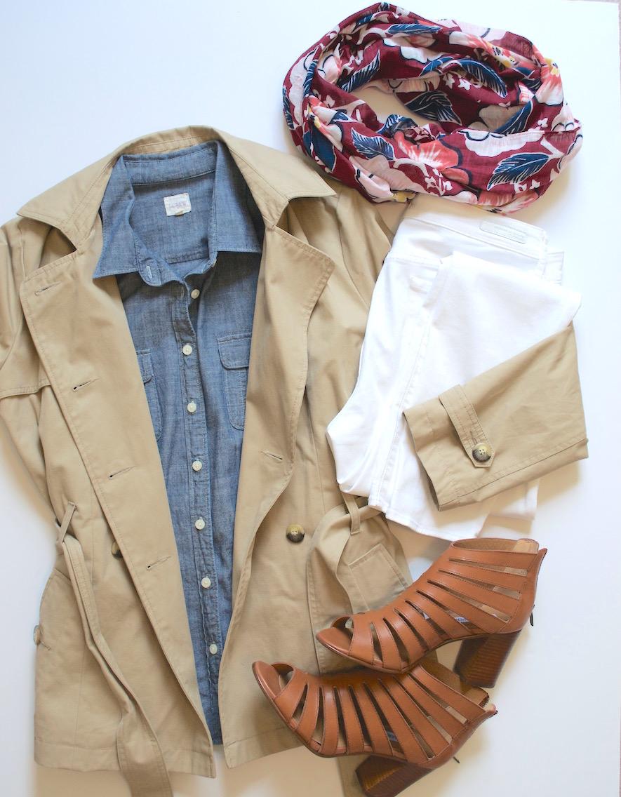 4 ways to wear white jeans 2