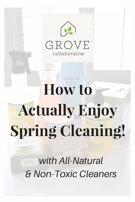 how to actually enjoy spring cleaning