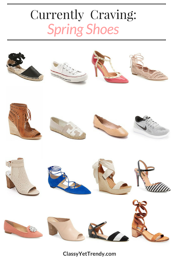 Currently Craving Spring Shoes
