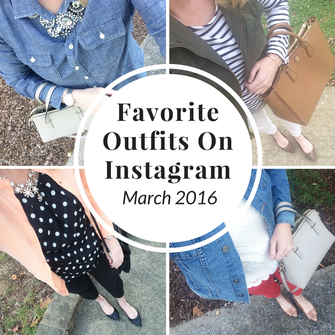Favorite Outfits on Instagram (Trendy Wednesday Link-up #68)