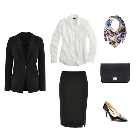 The Workwear Capsule Wardrobe: Spring 2016 Collection outfit 1