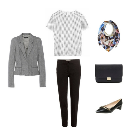 The Workwear Capsule Wardrobe: Spring 2016 Collection outfit 5