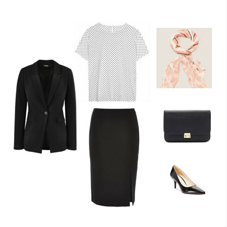 The Workwear Capsule Wardrobe: Spring 2016 Collection outfit 4