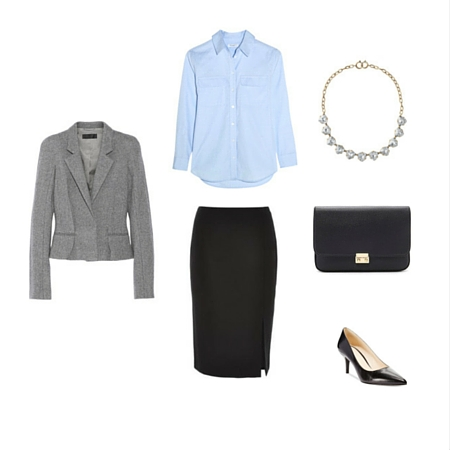 The Workwear Capsule Wardrobe: Spring 2016 Collection outfit 7