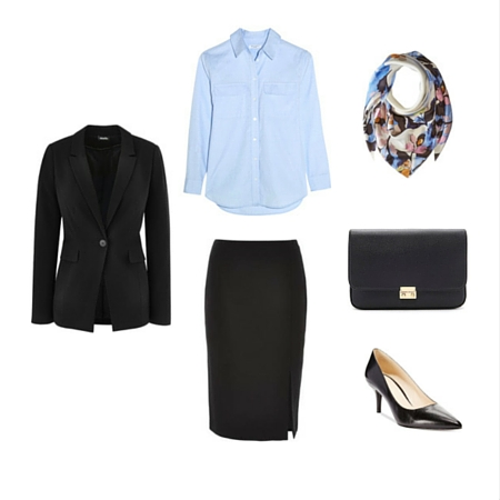 The Workwear Capsule Wardrobe: Spring 2016 Collection outfit 8