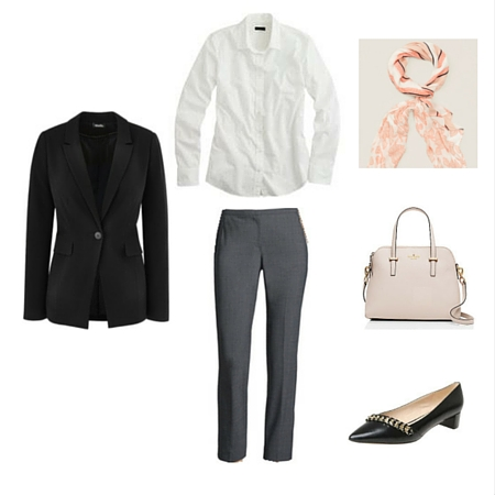 The Workwear Capsule Wardrobe: Spring 2016 Collection outfit 9