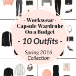 Workwear Capsule Wardrobe On a Budget: 10 Spring Outfits