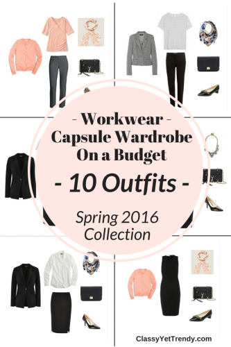 The Workwear Casule Wardrobe On a Budget