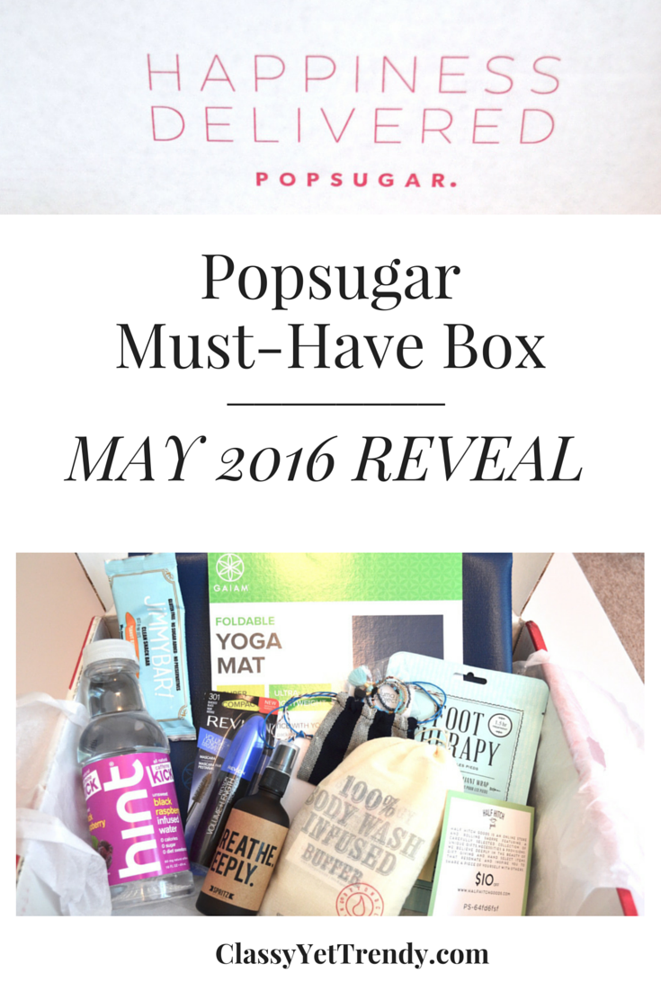 Popsugar Must-Have Box: May 2016 Reveal!