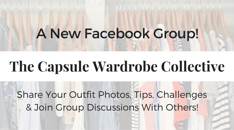 The Capsule Wardrobe Collective Facebook Group