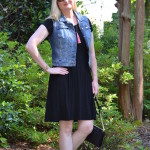 Black and Denim (Trendy Wednesday Link-up #71)