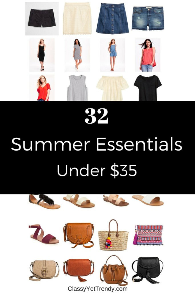 2 summer essentials under $35