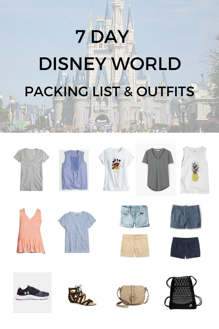 Disney World 7-Day Packing Guide & Outfits