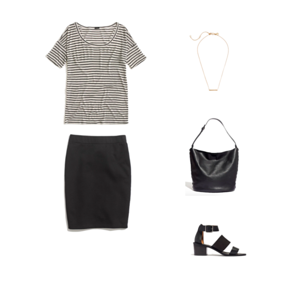 Capsule Wardrobe On a Budget Minimalist Outfit 1