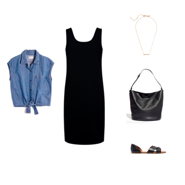 Capsule Wardrobe On a Budget Minimalist Outfit 3