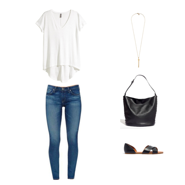 Capsule Wardrobe On a Budget Minimalist Outfit 10