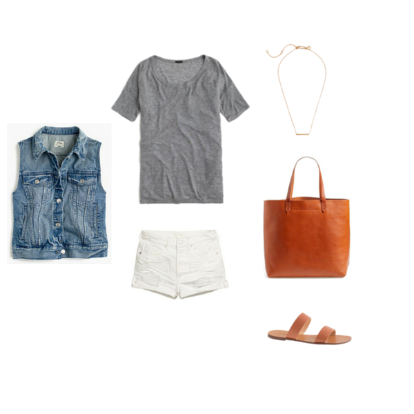 Capsule Wardrobe On a Budget Minimalist Outfit 7
