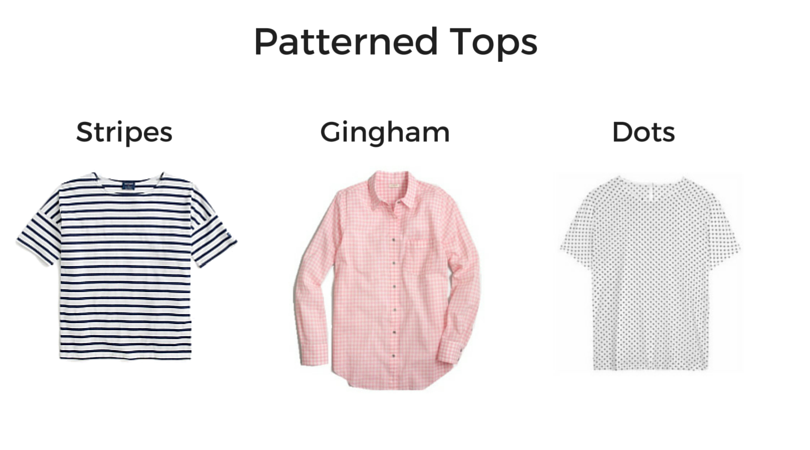 Patterned Tops