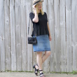 Ruffles and Frayed Denim (Trendy Wednesday Link-up #77)