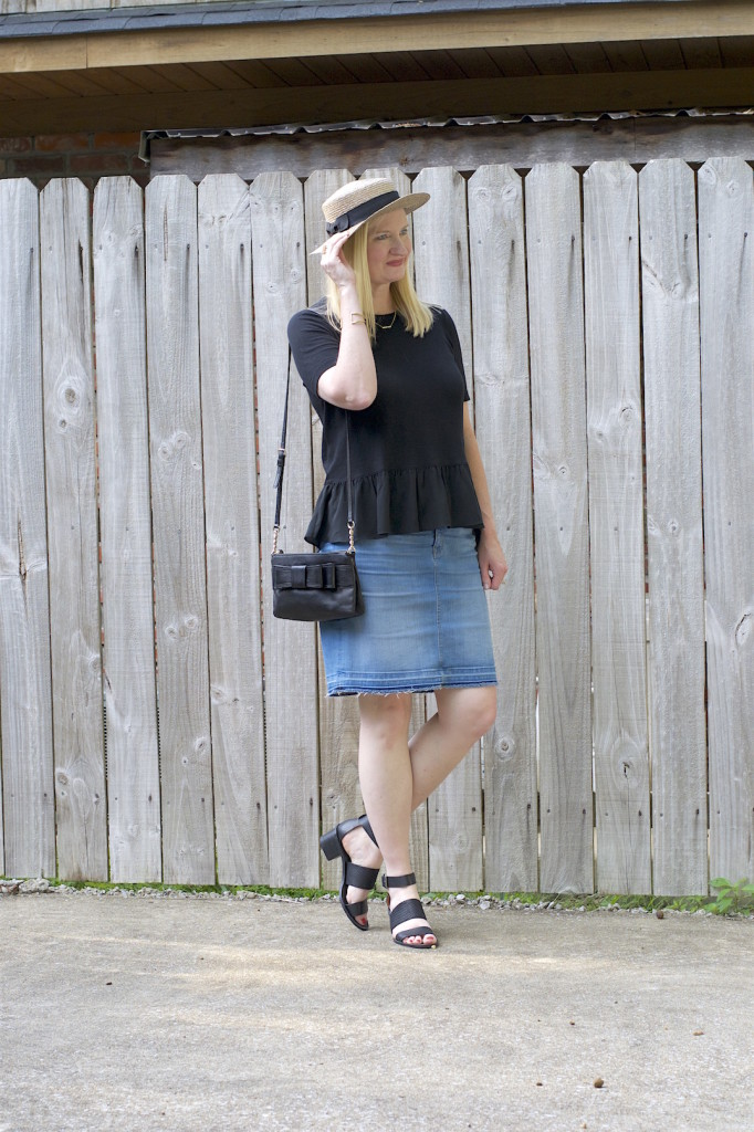 Ruffles and Frayed Denim 1