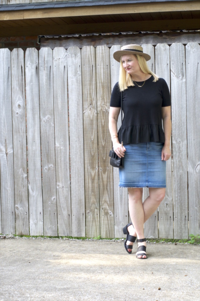 Ruffles and Frayed Denim 3