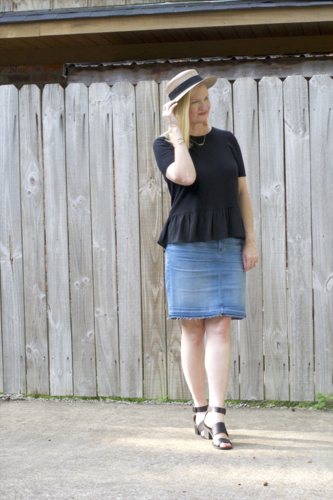 Ruffles and Frayed Denim 5