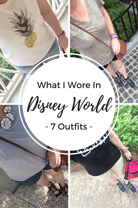 What I Wore In Disney World - 7 Outfits