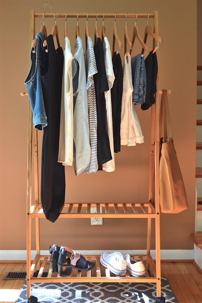 minimalist capsule wardrobe - summer 2016 a