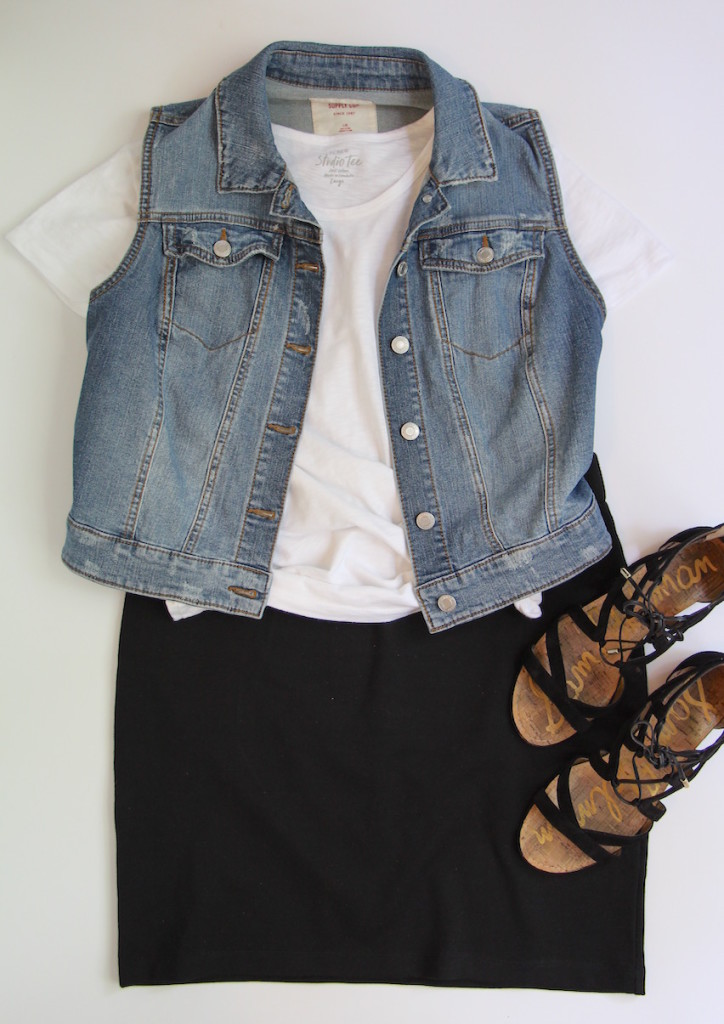 10 Ways To Wear A Black Skirt - Outfit 7