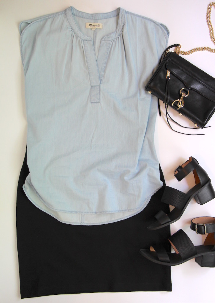 10 Ways To Wear A Black Skirt - Outfit 9