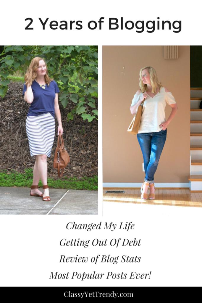 2 Years of Blogging on Classy Yet Trendy