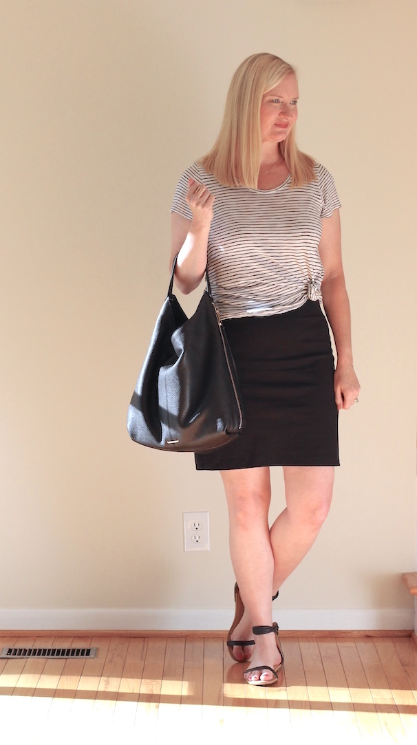 Casual Stripes Trendy Wednesday Link-up #80