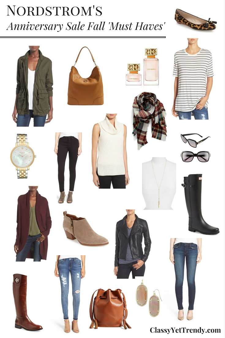 Nordstrom Anniversary Sale Fall Must Haves