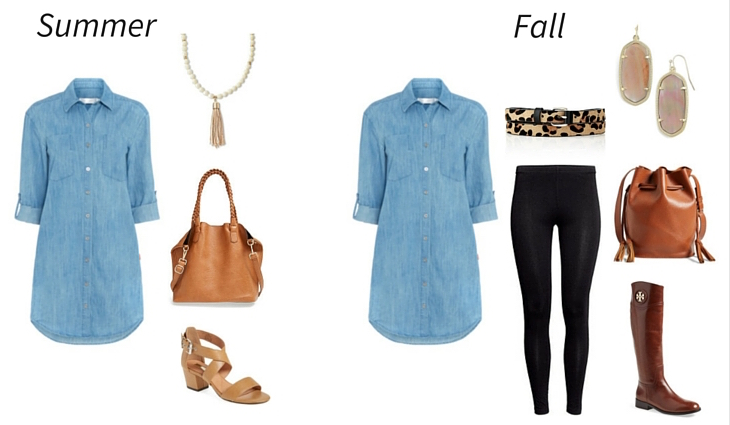 Wear Now, Wear Later summer to fall outfit 2