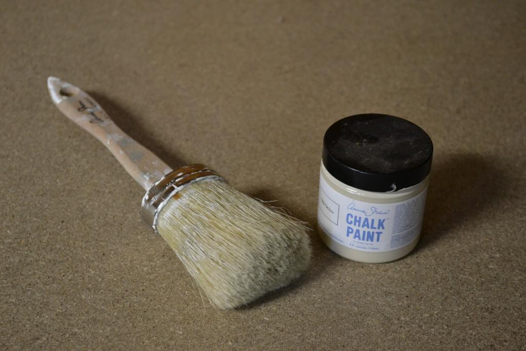 succulents chalk paint pots 1