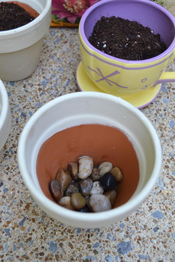 succulents chalk paint pots 10a