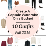 Create a Capsule Wardrobe On a Budget: 10 Fall Outfits