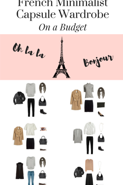 Create a French Minimalist Capsule Wardrobe pin