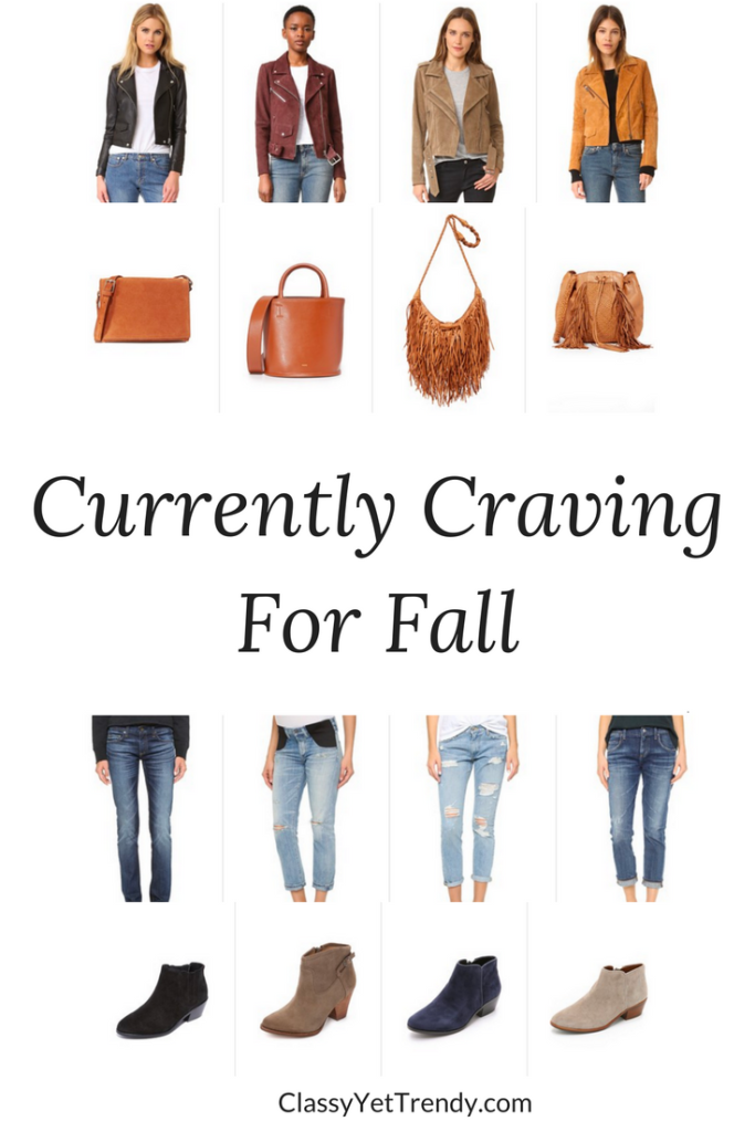 Currently Craving For Fall