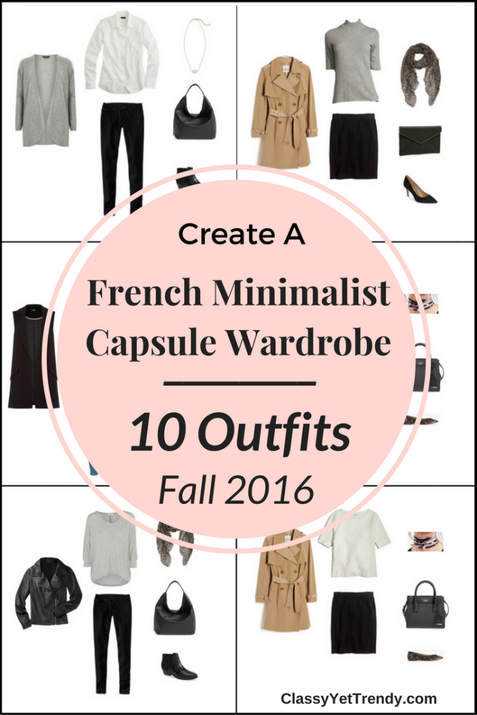 French Minimalist Capsule Wardrobe On a Budget